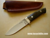 W.C. Davis Loveless Drop Hunter Micarta