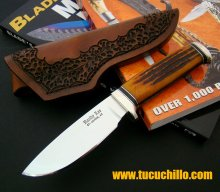 Randy Lee Custom Trapper Hueso Ambar