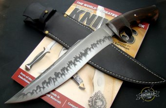 Jan Hafinec Fighter Sub-Hilt Ironwood