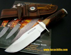 Randy Lee Custom Bowie Amber Stag